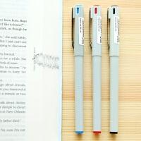 日本斑马水笔BE100 签字笔 BE-100宝珠墨水笔全针管0.5mm