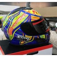 新款赛车跑车摩托车头盔 男女士 冬季 全覆式越野全盔四季 防雾