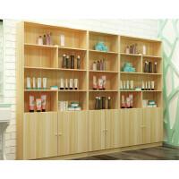 化妆品展示柜理发店陈列柜子货架隔断超市组合架子美容院展示货架