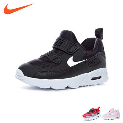 耐克nike童鞋18新款婴幼童跑步鞋轻质气垫鞋耐磨防滑宝宝学步鞋 (0-4岁可选) 881924 007