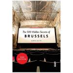 【500个隐藏秘密旅行指南】Brussels,布鲁塞尔 英文原版旅游攻略