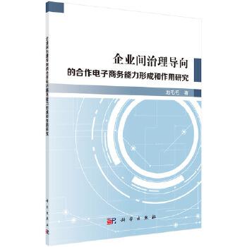 企业间治理导向的合作电子商务能力形成和作用研究