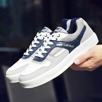 卡帝乐鳄鱼板鞋男鞋休闲鞋2017秋季时尚运动鞋滑板鞋男小白鞋