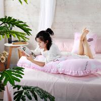 韩版床头软包大靠枕床头靠垫抱枕双人沙发公主床靠背含芯枕套