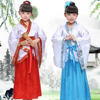 六一儿童演出服古装汉服弟子规舞蹈服装男女童书童三字经国学衣服