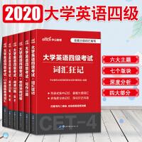 中公2019学英语四级考试词汇狂记 10年真题高频词汇 阅读180篇 写作120篇 4本套
