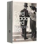 队列之末四部曲 英文原版小说 Parade's End 本尼迪克特康伯巴奇主演英剧原著 英文版进口英语书籍正版现货 P