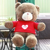 抱抱熊毛绒玩具可爱泰迪熊毛衣熊玩偶大号送女友情人节礼物
