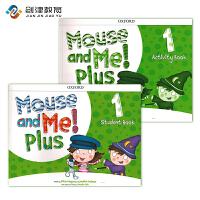 原装正版 牛津幼儿英语教材 mouse and me plus 第一册套装 含学生课本+练习册