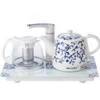 陶瓷自动上水烧水保温功夫茶具电热水壶套装