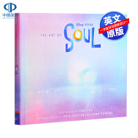 预售英文原版 The Art of Soul 灵魂奇遇记电影设定集 精装 皮克斯2020 灵魂急转弯 心灵奇旅动画设定集