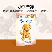 英文绘本 进口原版Biscuit 小饼干 汪培�E I Can Read,My First [4-8岁]