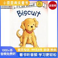 #英文绘本 进口原版Biscuit 小饼干 汪培�E I Can Read,My First [4-8岁]