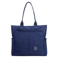 休闲尼龙女包斜挎包大容量轻便布包牛津手提单肩包旅行轻便大包包