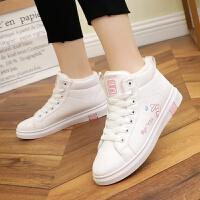 小学生女孩冬季棉鞋11中大童10运动板鞋12小白鞋13加绒休闲鞋15岁