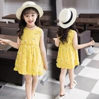 女童连衣裙夏装新款背心裙儿童裙子夏季碎花裙洋气公主裙