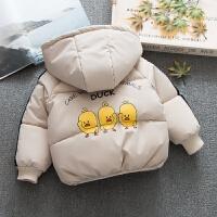 男童加厚韩版儿童棉袄外套小童冬装宝宝外出手塞棉衣