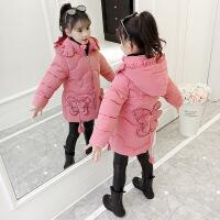 №【2019新款】冬天儿童穿的女童冬装棉衣韩版洋气外套儿童羽绒女孩中长宝宝棉袄
