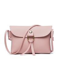 新款时尚圆环流苏单肩女士小包包迷你斜跨手机包小零钱包包