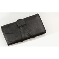 便携PU皮化妆刷包 化妆刷收纳包 化妆工具包 多款式套刷包 18支黑色空包 21cm刷可放18支 其它材质