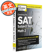 Cracking the SAT Subject Test in Math 2, 2nd Edition 英文原版 美