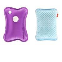 已注水充电热水袋 可拆洗暖宝宝 电暖宝 双插手暖手宝暖水袋