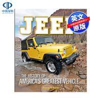 现货英文原版 吉普:美国伟大汽车发展编年史指南 精装艺术书 Jeep: The History of America's