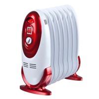 迷你小油汀电暖器 7片家用取暖器 电热2 3档电暖器