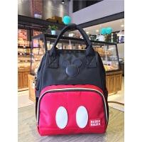 容量书包旅游双肩包运动包韩版旅行米奇妈咪背包 中号妈咪包