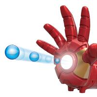 钢铁侠手臂可穿戴头盔甲金属机械电动衣服水弹玩具手臂连发* 机械手臂钢铁侠 图片色