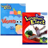 Pearson Primary Longman Elect 1A 培生香港朗文小学英语教材1a全套 学生用书+练习册2本
