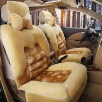 冬季新款毛绒汽车坐垫冬季短毛绒全包围秋冬款汽车座套保暖车垫套