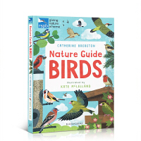 【全店300减100】英文原版 Nature Guide: Birds 自然导游:鸟类 鸟类知识百科科普 百科科学读物图