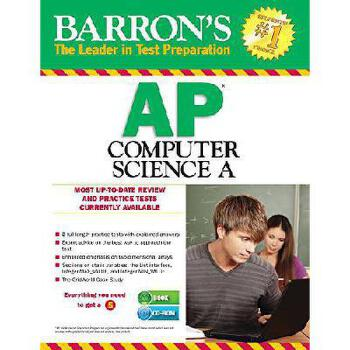 Barron's AP Computer Science a , 7th Edition [With CDROM]