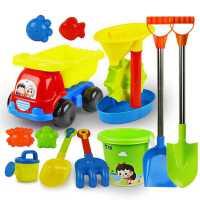 沙滩玩具玩沙玩具工具宝宝儿童挖沙铲子套装铲桶玩沙子男孩女孩
