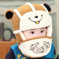 宝宝雷锋帽婴儿帽子冬季儿童帽小孩男女童帽婴幼儿护耳帽潮3