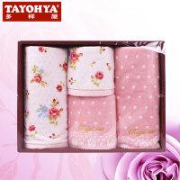 TAYOHYA多样屋  皇家玫瑰Royal Rose  2方2面毛巾礼盒
