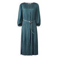 【全场2件2.5折,到手价:204.8】MECITY女装新款装中长款灯笼袖系带仙女裙连衣裙