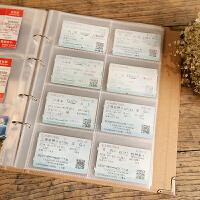 拍立得相册5寸插页式收藏火车飞机电影票旅行纪念钱币收集纳影集