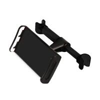 平板电脑支架车载ipad汽车后座懒人支架多功能座椅平板电脑支撑架 黑色