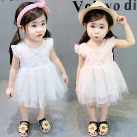 女宝宝连衣裙夏装女童公主裙儿童洋气婴儿小裙子夏季背心裙