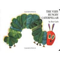 Eric Carle: The Very Hungry Caterpillar board book 好饿的毛毛虫(卡板