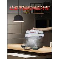 厨房家用的菜罩大号碗桌扣餐桌饭菜罩子可折叠防尘盖菜食物保温罩4ld