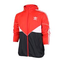 (9.22-24日 满100减30 满279减100)Adidas阿迪达斯 男子三叶草防风运动休闲夹克外套 BQ923