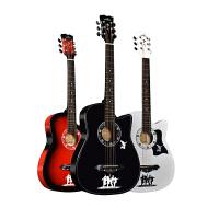 初学者入门练习电箱琴吉他手民谣吉他38寸男女生木吉他