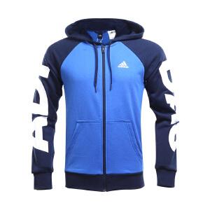 Adidas阿迪达斯  男子训练系列针织运动休闲夹克外套BQ7085
