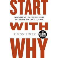 """【现货】英文原版 从""""为什么""""开始 Start with Why 伟大的领袖如何激励每个人都采取行动 平装"""