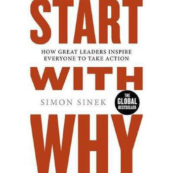 """【现货】英文原版 从""""为什么""""开始 Start with Why 伟大的领袖如何激励每个人都采取行动 平装 国营进口!品质保证!"""