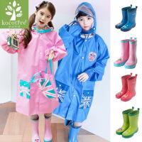韩国kk树儿童雨鞋宝宝雨靴春天男童女童雨鞋中童防滑小孩水鞋夏季