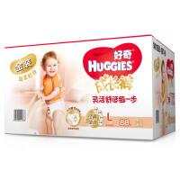 [当当自营]Huggies好奇 金装成长裤 拉拉裤 男女通用  L88片*2